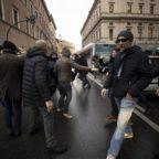 Proteste Ncc a Roma, non ce ne andiamo