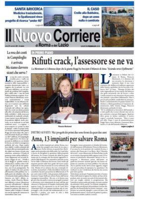 Il Nuovo Corriere di Roma e del Lazio n.10 – Anno V + Cronache Nazionali n.10 – Anno IV