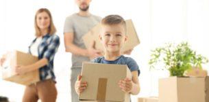 Traslocare con i bambini. Quali precauzioni prendere per mitigare lo stress