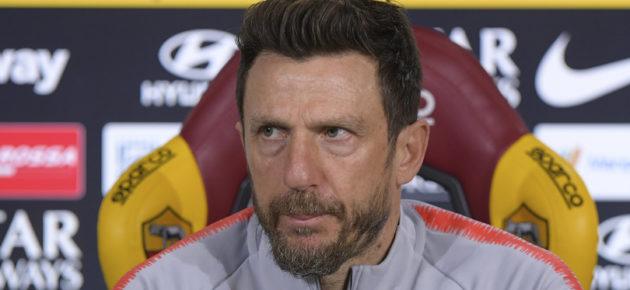 Roma, Di Francesco: «A Zaniolo sta bene la 22, basta pressioni. Allarme attaccanti»