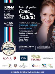 Locandina Italia Argentina Canta In Festival