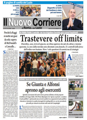 Il Nuovo Corriere di Roma e del Lazio n.58 – Anno V + Cronache Nazionali n.58 – Anno IV