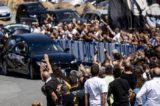 """Polemiche dopo i funerali di Diabolik,<br> la famiglia: """"Feretro doveva passare tra la folla"""""""