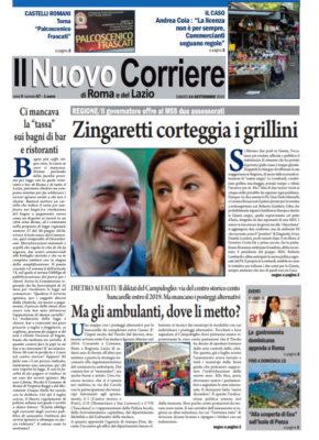 Il Nuovo Corriere di Roma e del Lazio n.67 – Anno V + Cronache Nazionali n.67 – Anno IV