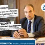 """CAPITALE, PICA (FIEPET-CONFESERCENTI): """"TASSE FRENANO ECONOMIA LOCALE. CAFAROTTI APRA TAVOLO CON PAR..."""