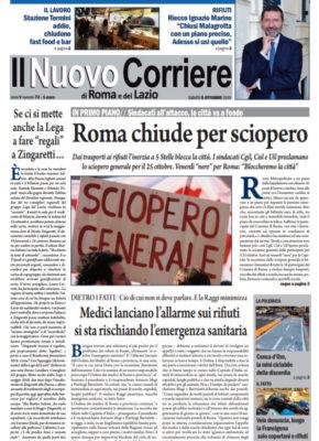 Il Nuovo Corriere di Roma e del Lazio n.73– Anno V + Cronache Nazionali n.73 – Anno IV