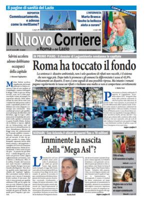 Il Nuovo Corriere di Roma e del Lazio n.80 – Anno V + Cronache Nazionali n.80 – Anno IV