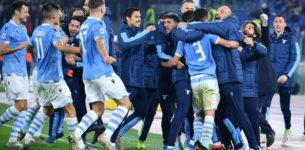 Serie A: Lazio batte la Juventus 3-1 Primo ko per i bianconeri