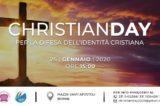 """Evento 'Christian day' Pro Vita & Famiglia: """"Ci saremo anche noi a difendere il cristianesimo dissacrato e offeso ogni giorno"""""""