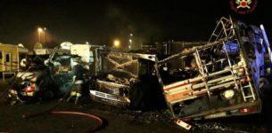 OSTIENSE – Incendio  in un camper, un morto