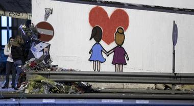 Incidente Corso Francia, un murales per Gaia e Camilla