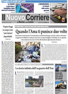 Il Nuovo Corriere di Roma e del Lazio n.10– Anno VI + Cronache Nazionali n.11– Anno V