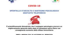 CORONAVIRUS – L''INI apre uno sportello di ascolto e di sostegno psicologico