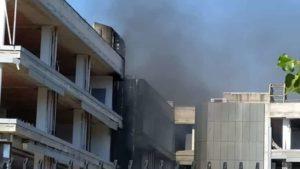 Incendio Tor Sapienza 21.07.2020 1-2