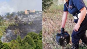 Incendio doloso Spinaceto (combo)-2