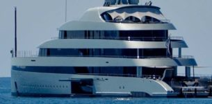 Ostia, al porto arriva il super yacht Savannah