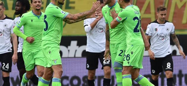 La Lazio torna a vincere ma con fatica: 2-1 allo Spezia