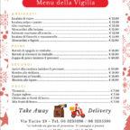 Al San Marco il menu della Vigilia è a portar via