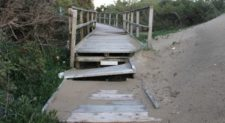 Duna e spiaggia devastate a Sabaudia, chiesto lo stato di calamità