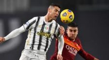 CALCIO – La Roma perde 2-0 con la Juve. CR7 segna ancora, Fonseca perde un altro scontro diretto