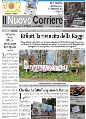Il Nuovo Corriere di Roma e del Lazio n.20 – Anno VI + Cronache Nazionali n.20 – Anno V