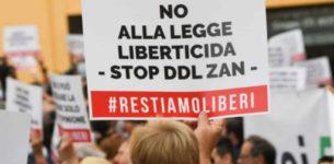 """Omotransfobia Ddl Zan, Pro Vita e Famiglia: """"E adesso pensano di chiudere anche la bocca agli italiani?"""""""