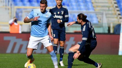 La Lazio perde 3-1 allo Stadium contro la Juventus