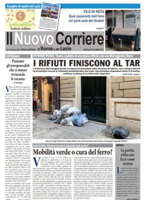 Il Nuovo Corriere di Roma e del Lazio n.56– Anno VI + Cronache Nazionali n.56 – Anno V (Copia)