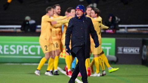La Roma perde in Conference: 6-1 dal Bodo Glimt