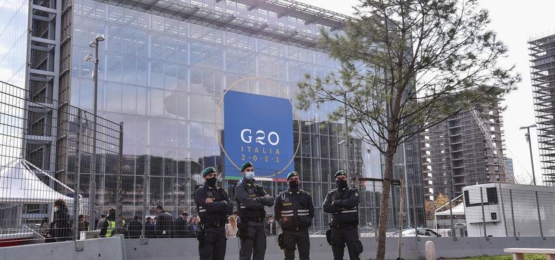 G20 A ROMA<br>Tiratori scelti e strade chiuse